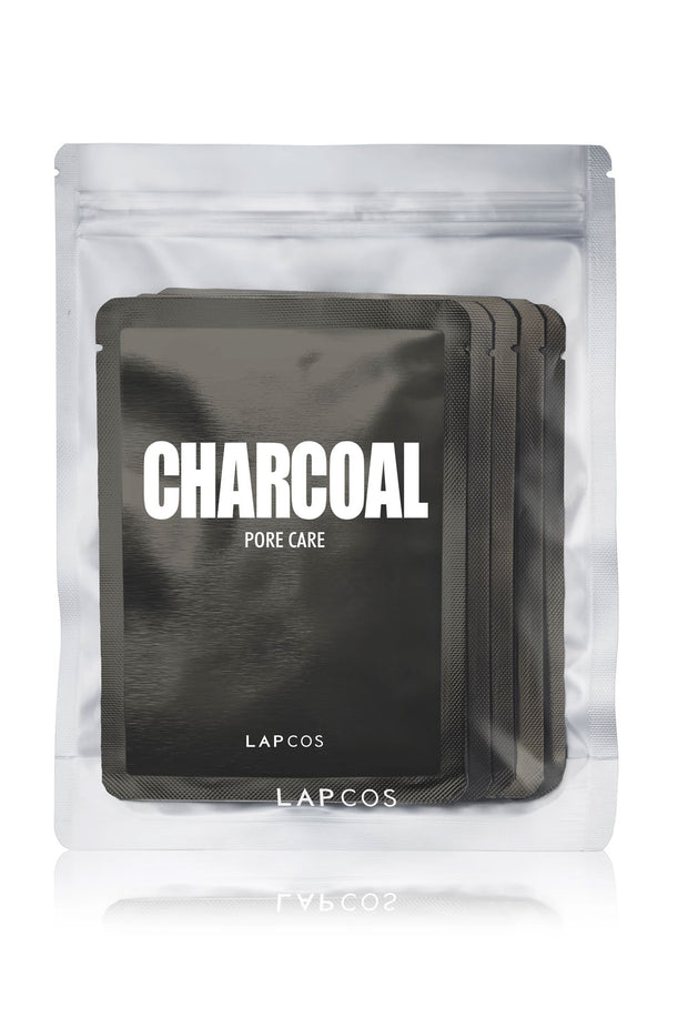 Daily Skin Mask Charcoal 5 Pack by Lapcos
