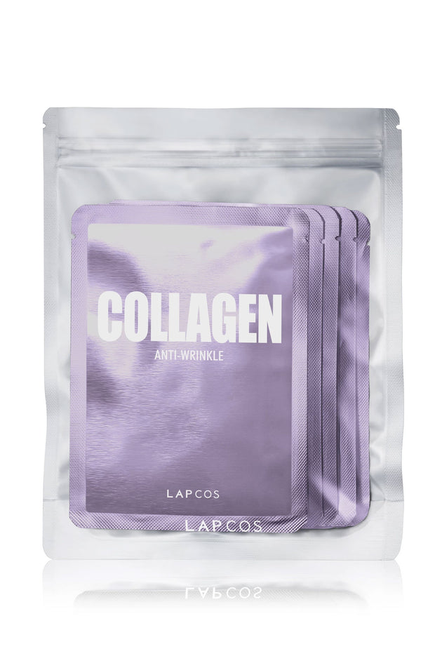 Daily Skin Mask Collagen 5 Pack by Lapcos