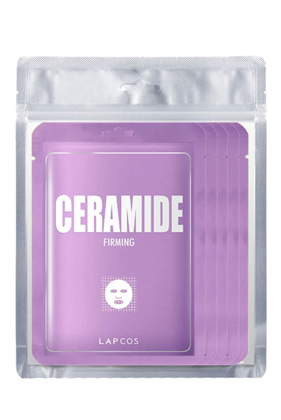 Derma Sheet Mask Ceramide 5 pack by Lapcos