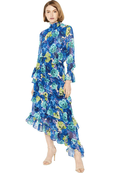 Rania Dress Electric Floral by Misa Los Angeles