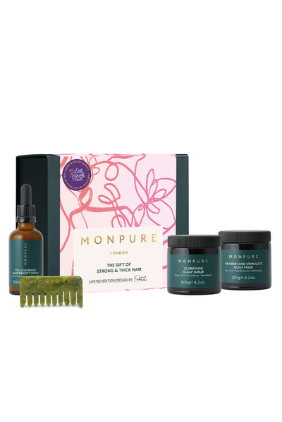 The Gift of Strong & Thick Hair by MONPURE