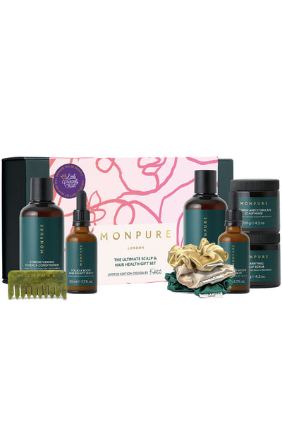 The Ultimate Scalp & Hair Health Gift Set by MONPURE