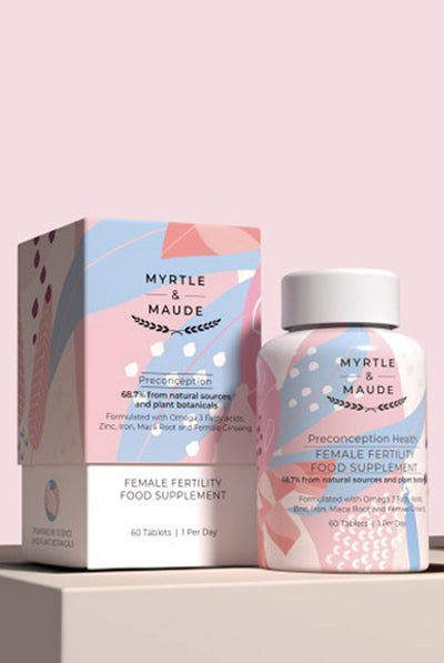 Myrtle & Maude Fertility Vitamin for Women