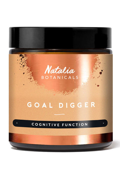 GOAL DIGGER – COGNITIVE FUNCTION by Natalia Botanicals