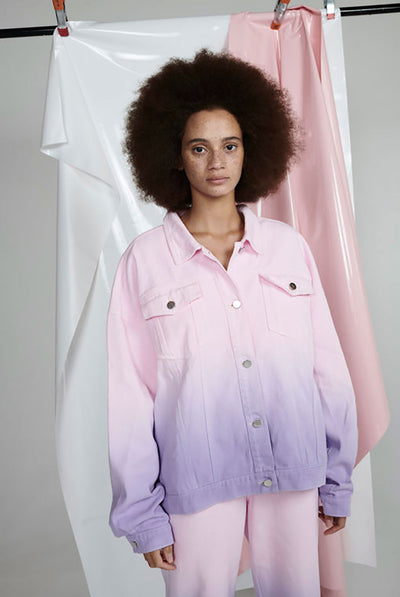 Olivia Rubin Julia Ombre Denim Jacket