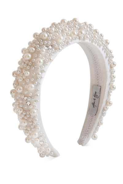 Grace Pearl Headband by Alice & Blair