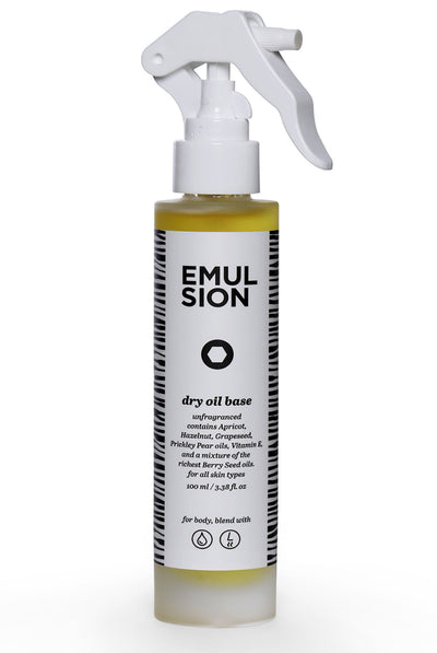 Dry Oil Base by Emulsion