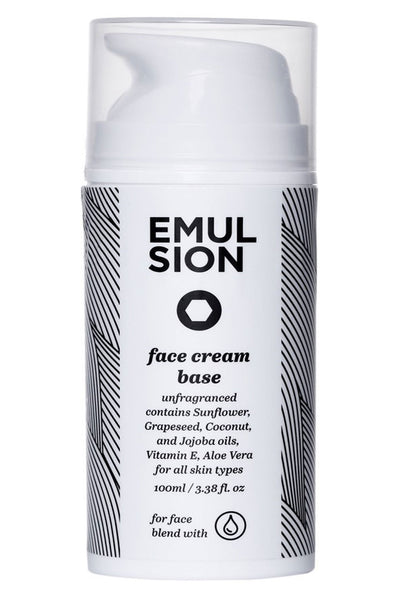 Face Cream Base by Emulsion