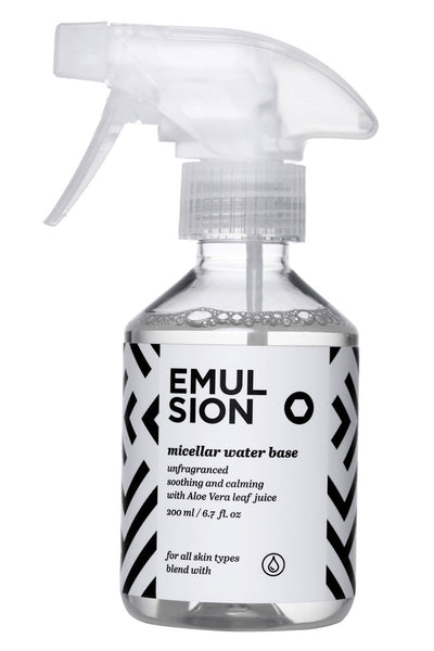 Micellar Water Base by Emulsion