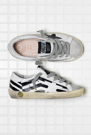 Golden Goose Sneakers Superstar White Flag