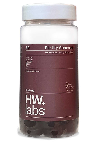 HW.Labs Fortify Gummies for hair, skin & nails