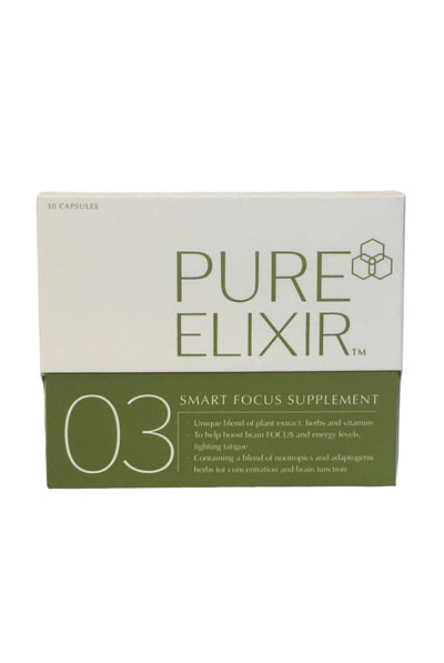 Pure Skin Elixir 03 SMART Focus - The Best Nootrpoic for brain energy and focus