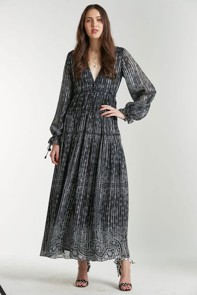 Long Dress in Black by Rococo Sand