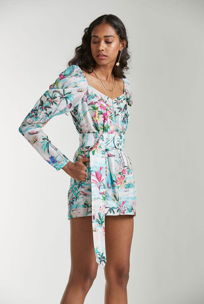 Romper in Blue by Rococo Sand