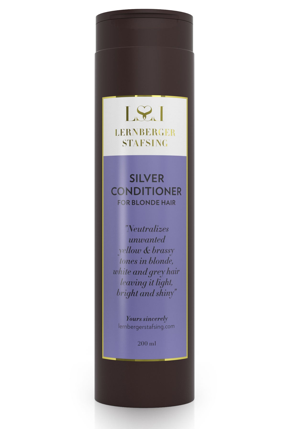 Lernberger Stafsing Silver Conditioner - 200ml