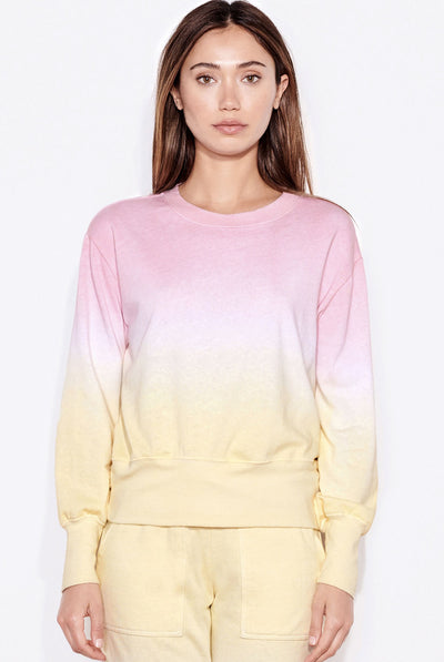 Dip Dye Basic Sweatshirt by Sundry