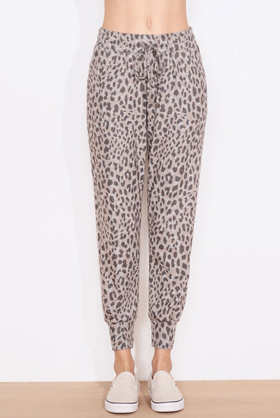 Leopard Print Jogger by Sundry