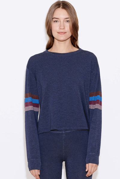 Stripes Easy Pullover by Sundry