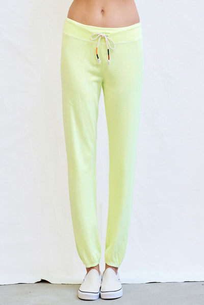 Sundry Basic Sweatpant Pigment Pop Lime