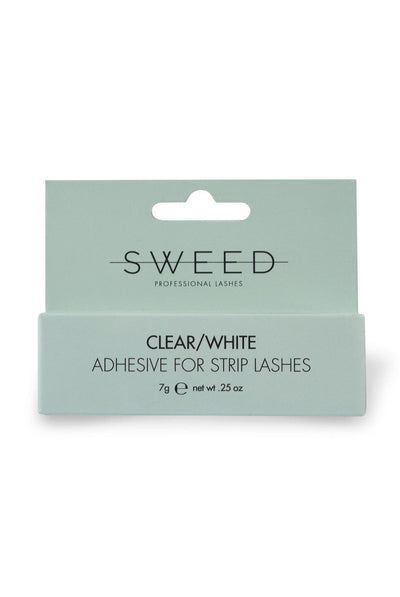 Sweed Lashes Adhesive for Strip Lashes Clear/White