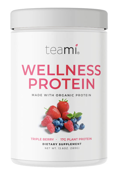 Organic Plant-Based Wellness Protein, Triple Berry