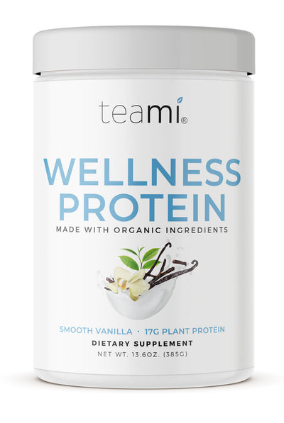 Organic Plant-Based Wellness Protein, Smooth Vanilla
