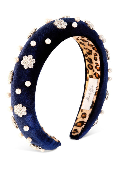 Oxygen Boutique Alice & Blair Aurora Royal Blue Headband