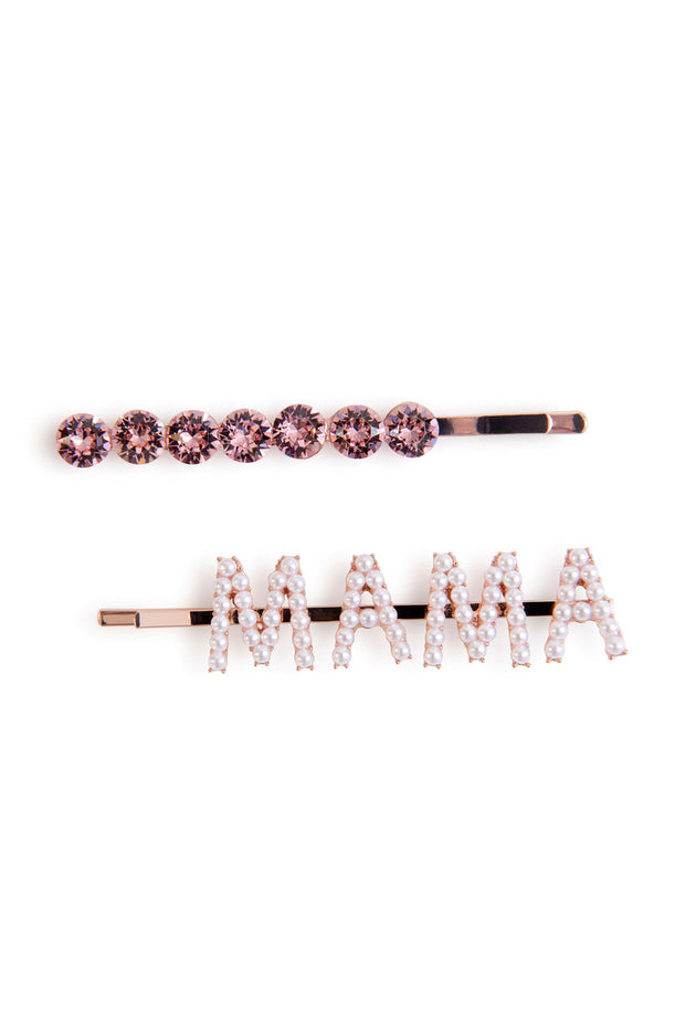 Oxygen Boutique Alice & Blair Mama Hair Slide Set