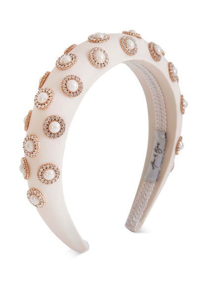 Oxygen Boutique Sienna Headband White Alice & Blair
