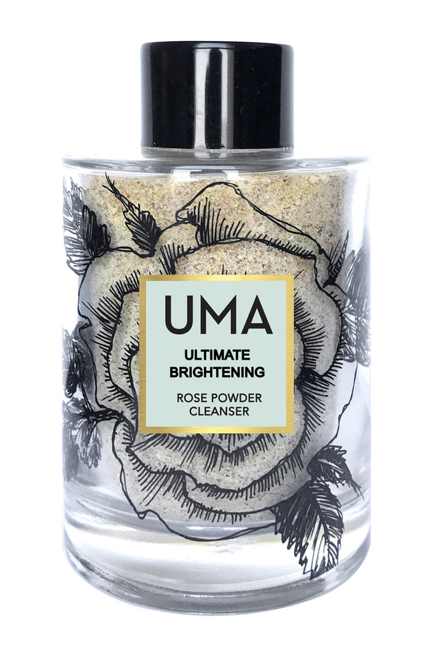 Ultimate Brightening Rose Powder Cleanser by Uma Oils