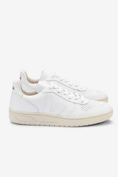 V-10 Leather Extra White
