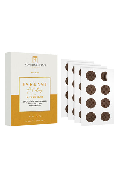 Vitamin Injections Hair And Nail Patches (32 Patches)