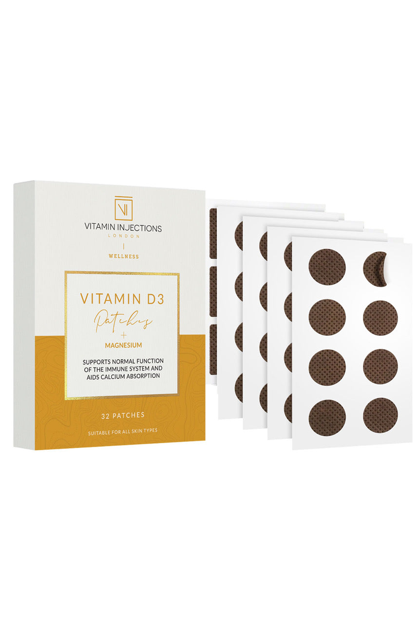 Vitamin Injections Vitamin D3 Skin Patches - 32 patches
