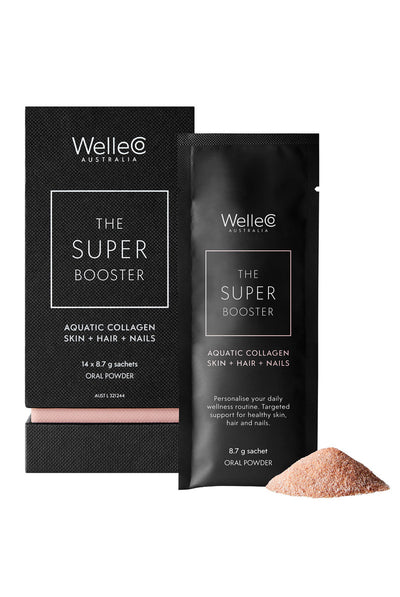 WelleCo The Super Booster Aquatic Collagen Skin + Hair + Nails