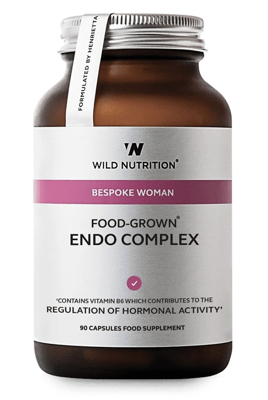 Wild Nutrition Food-Grown Endo Complex - 90 capsules