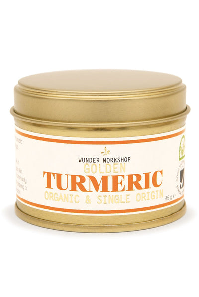 Wunder Workshop GOLDEN TURMERIC POWDER - Organic & Single-Origin (40g)