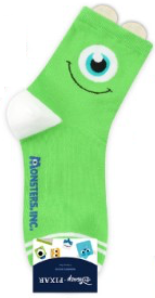 Mike de Monsters Inc (largo) - Character Sock