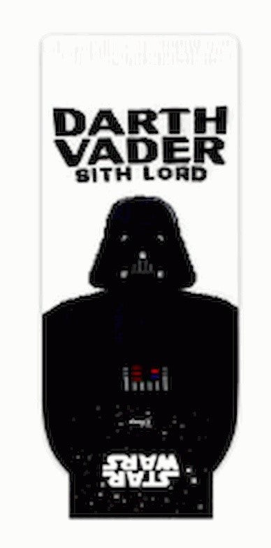 Star Wars Darth Vader Sith Lord blanco y negro (cortos) –– Character Sock