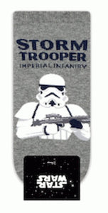 Star Wars - Storm Trooper gris (corto) – Character Sock
