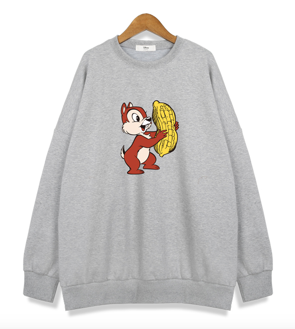 Chip and Dale (Gris) - Sudadera Disney