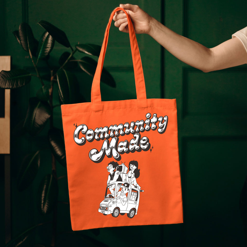Community Made Totebag