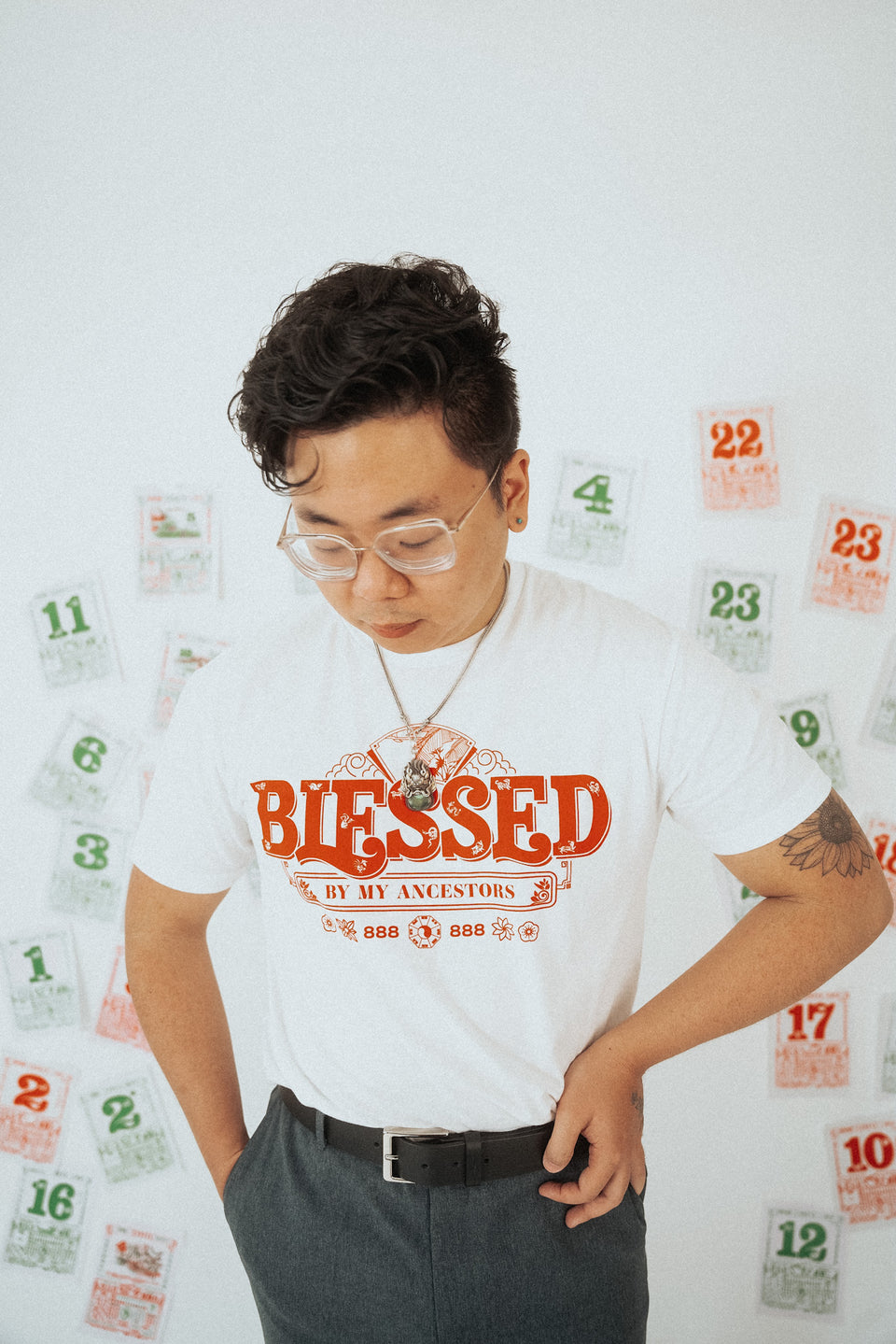 Blessed By My Ancestors T-Shirt