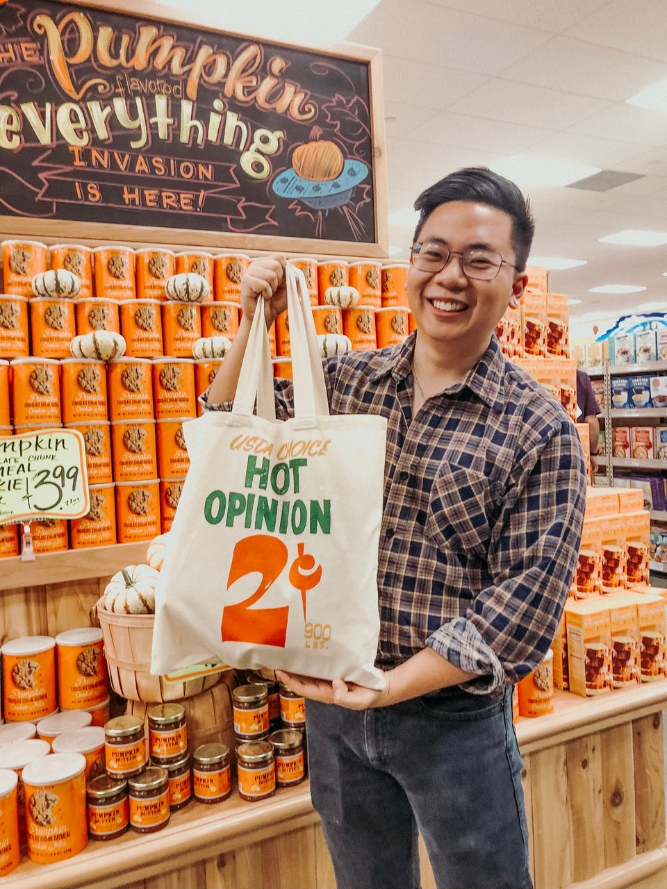 Hot Opinion Totebag