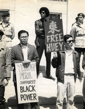 Yellow Peril Stands with Black Power