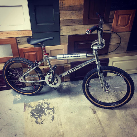 Hutch Pro Racer BMX Bike With BASIC Parts and Accessories
