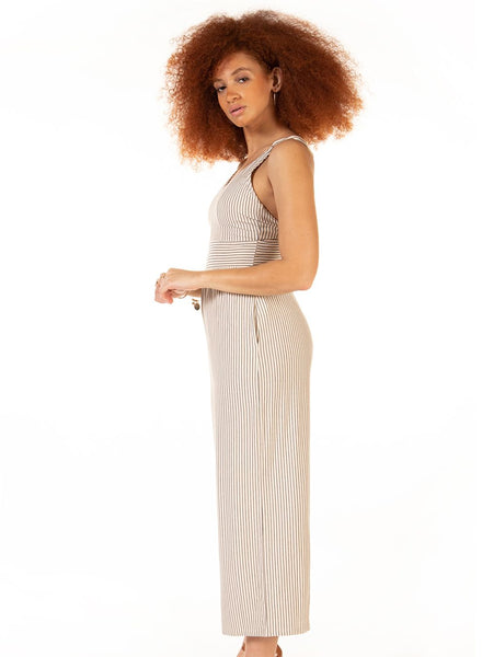 1722025 DEX Panelled Wide Leg Jumpsuit