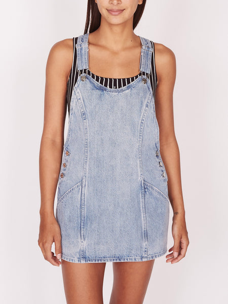 Obey 401500277 W Orchard Overall Dress
