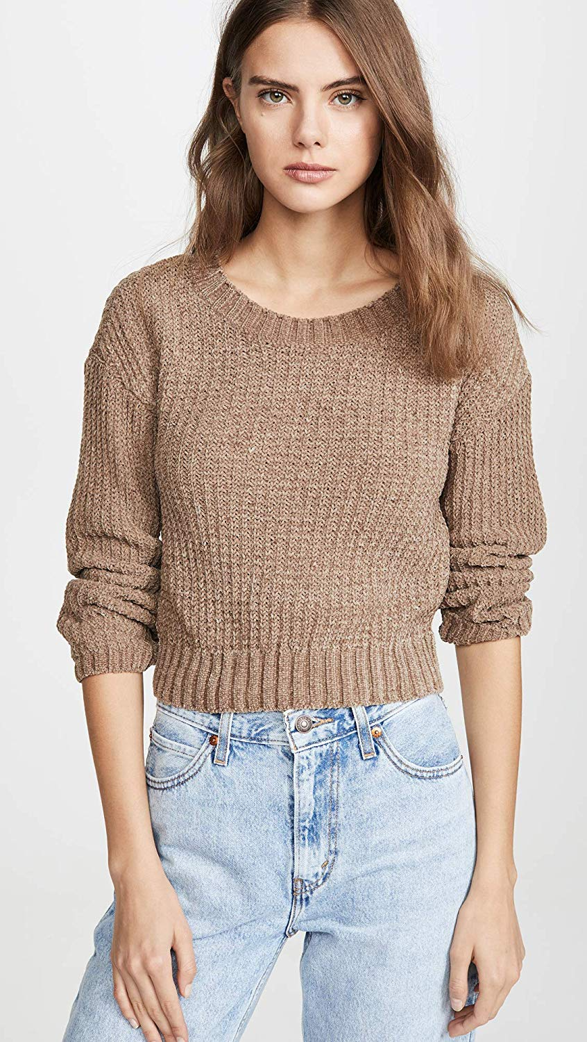 [BJ306638] Chenille The Deal Sweater