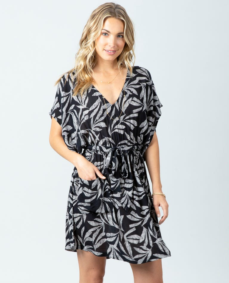 GDRID8 OOH LA Leaf Dress