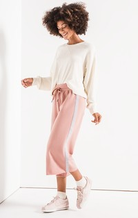 Z Supply Feathered Fleece Culottes  ZP191674